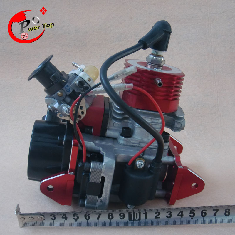 CNC 29CC Water-cooled Engine for RC Boats (in-line) cnc aluminum water cooling jacket for 29cc zenoah engine rc boat