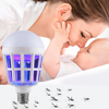 Indoor 2 Modes E27 LED Mosquito Killer Lamp Bulb Electric Trap Light Electronic Anti Insect Bug Pest Fly for Outdoor kitchen 1