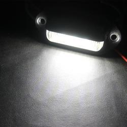 Из 2 предметов мотоцикл; автомобиль аксессуары светодиодный тег номерного знака огни удобство любезно дверь шаг лампы Задний