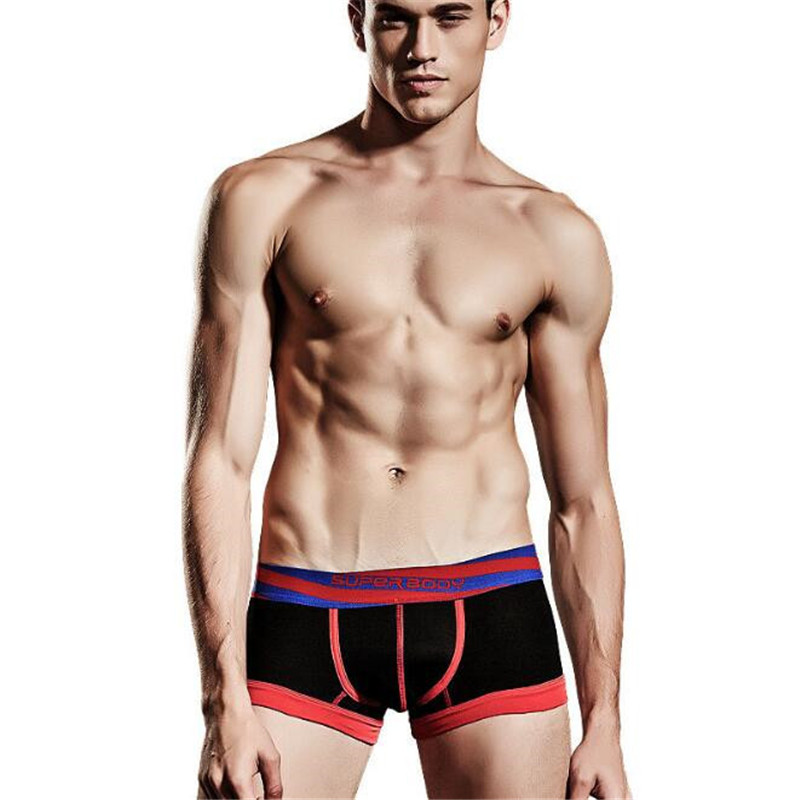 Men's Boxers Sexy Underwear,New Men's Underwear,Men's Cotton Low Waist Fashion Boxers Shorts