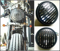 Retro de La Motocicleta Side Mount Headlight Cafe Racer Bobber Cruiser Custom