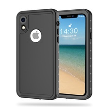Redpepper Waterproof Case for iPhone Xr, IP68 Shockproof Snowproof Dirtproof Protect For 6.1 Phone