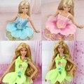 13 piece / lot 2013 new  peony petals Princess skirt Hua Xianzi dress for barbie doll best gift for girl