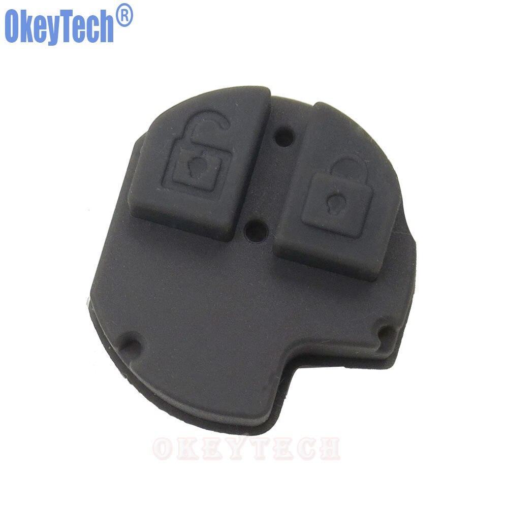 US $0 87 29% OFF OkeyTech New 2 Buttons Car Remote Key Fob Rubber Button  Repair Pad for Suzuki Swift SX4 Liana Aerio Vitara Jimny Key Pad-in Car Key