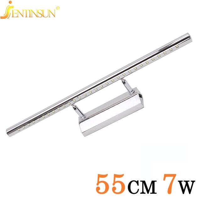 Moderne SMD5050 7 W LED Front Spiegel Licht Badkamer Lamp Rvs ...