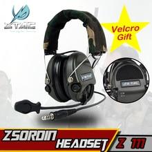 Z-TAC Airsoft элемент Z Тактический военная Униформа гарнитура Softair Peltor Sordin наушники для стрельба Arsoft IPSC Охота