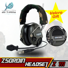 Z 111 Z taktiskt headset (Officiell version) anti-noise headset Sordin headset Tactical Headset Paintball Jakthörna