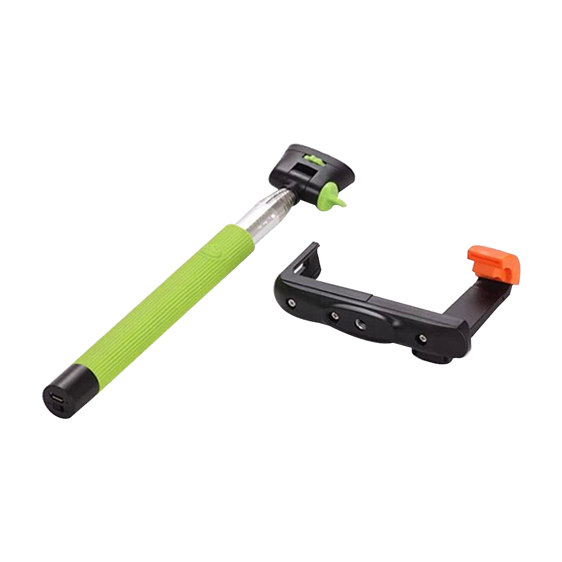 Extendable Handheld Wireless Bluetooth Selfie Stick For Android Phone green
