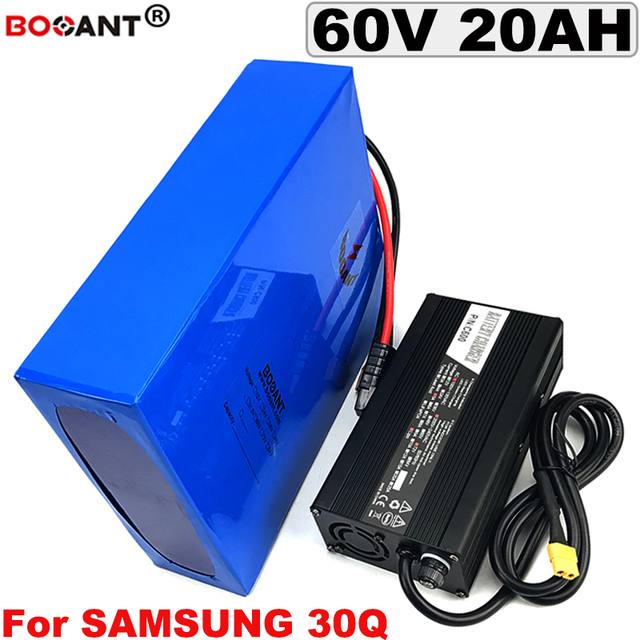 US $689 0  60V 20AH E bike Lithium Battery for Bafang BBSHD 1000W 1500W  2500W Motor Rechargeable Electric Bike Battery 60V Free Shipping-in  Electric