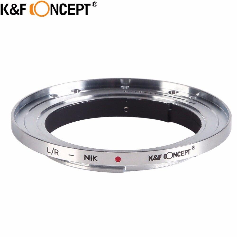 K & F KONZEPT Kamera Objektiv Mount Adapter Ring fit für Leica R L/R LR Mount Objektiv für Nikon DSLR Kamera Körper
