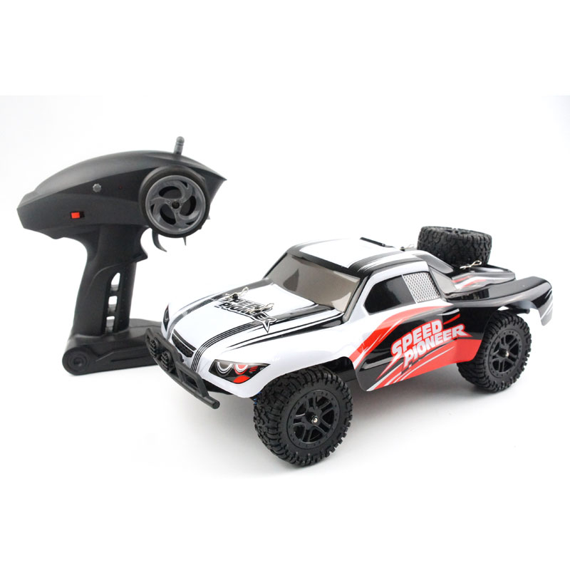RC Car 50KM/H High Speed Big RC Remote Control Car 2.4G Scale Off-Road Vehicle Buggy RC 1/18 Truck Four-wheel 4WD Toys
