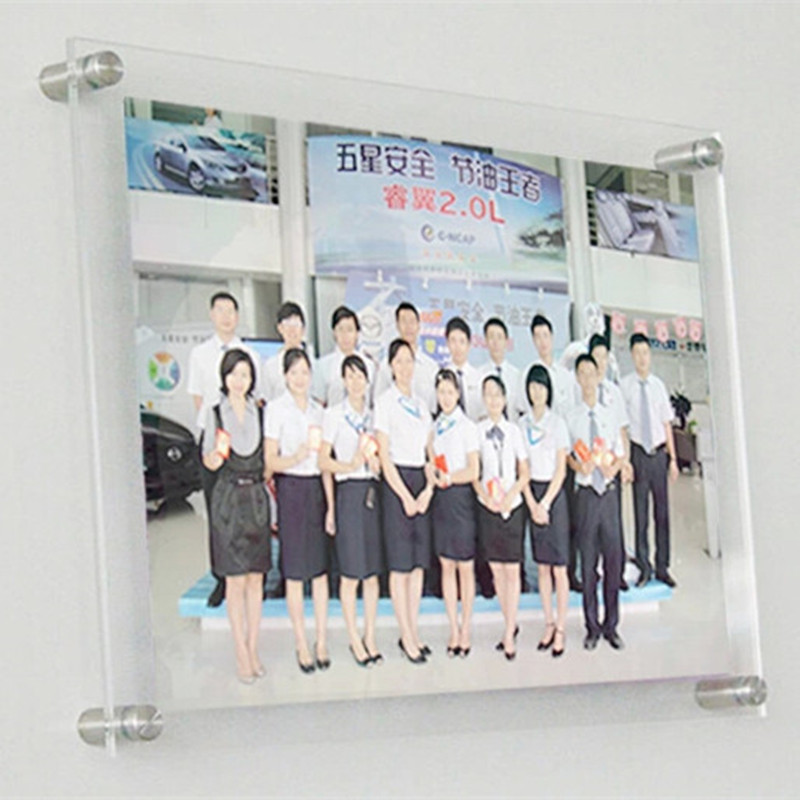 High Clear Acrylic Photo Frame European Creative Picture Frame ...