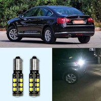 2pcs Brand New High Quality Superb Error Free 5050 SMD 360 Degrees LED Backup Reverse light Bulbs BA9S For Citroen C5