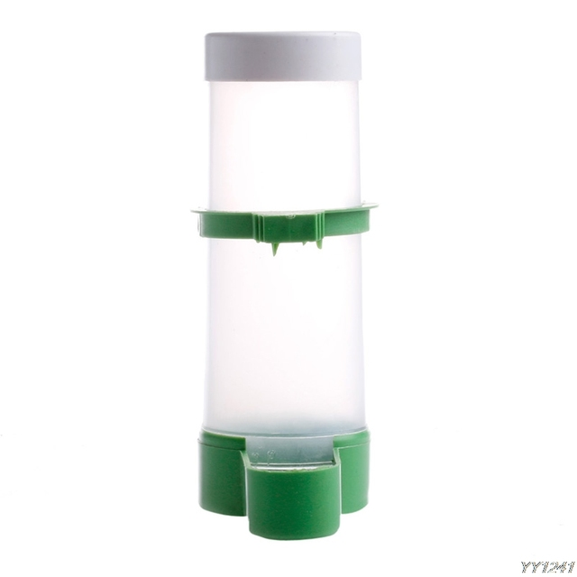 Plastic Automatic Drinker Feeder Water Clip for Aviary Budgie Cockatiel Lovebird Bird Feeder Farming Equipment For Bird Pet-W110