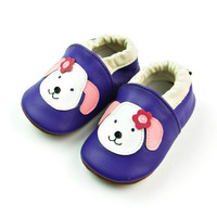 Cartoon Dog Pattern Baby Boy Shoes Soft Bottom Toddler Girl Shoes Anti Slip Newborn Shoes