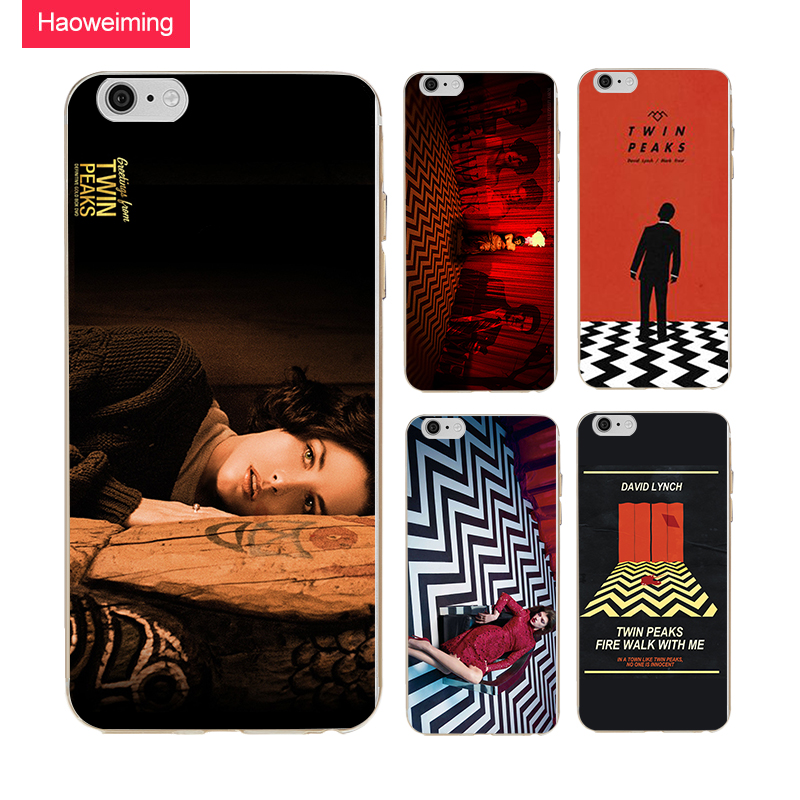 Twin Peaks Fire Walk Silicone Soft TPU Case For Huawei P8 P9 P10 P20 Plus Y5 Y7 Y9 Honor 6A 9 10 Nova 2 Mate 9 10 Lite H439