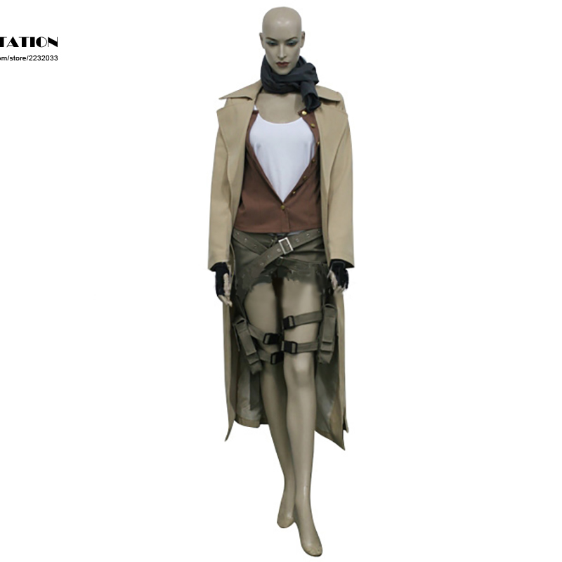 2017 Hot Selling Costume Resident Evil Extinction Alice Cosplay For Kid Costume and Adult Costume