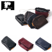 PU Leather Camera Soft Case Cover for Canon G9X G7X III II SX740 SX730 SX720 SX710 SX700 HS SX620 SX610 SX600 IS Ricoh GR II III