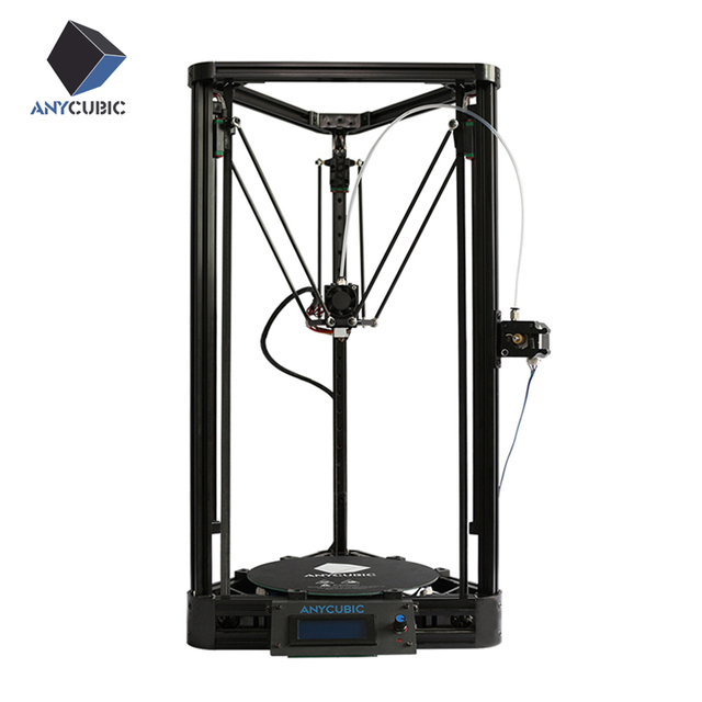 Anycubic 3D Printer Pulley Version Linear Guide Plus impresora 3D Large Printing Size impriman 3d printer diy kit