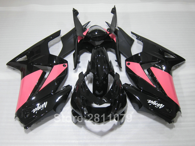 Injection Mold Free 7 Gifts Fairing Kit For Kawasaki Ninja 250R EX250 08 14 Pink