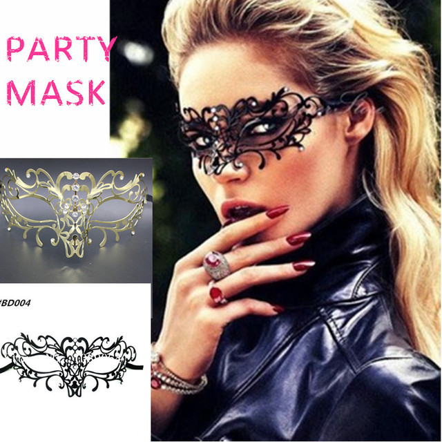 Carnaval Venetian Metal Filigree Masquerade Mask Woman Cool masked Masks Mardi Gras masks costumes for parties & Carnaval Venetian Metal Filigree Masquerade Mask Woman Cool masked ...