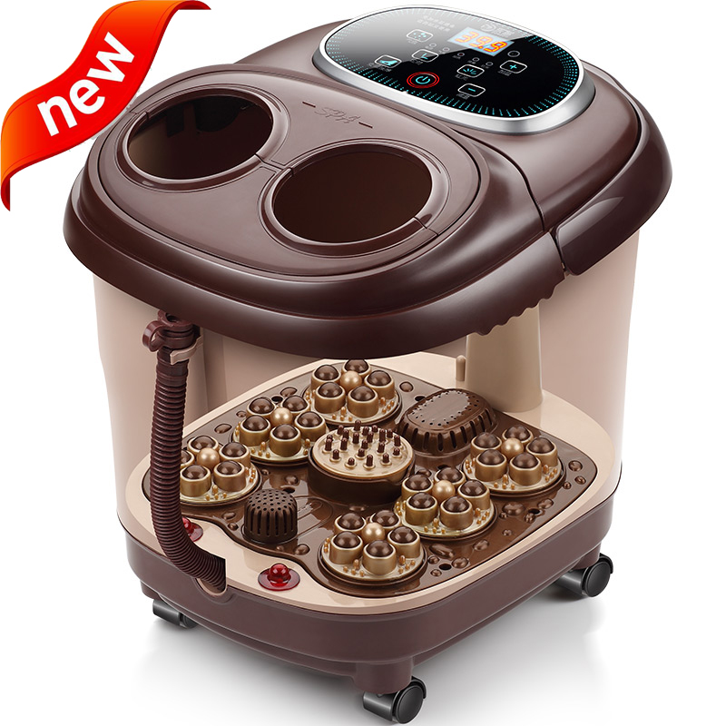 220V Infrared sterilization Automatic electric massage footbath remote control heated foot tub Anhydrous Foot massage machine