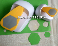 1'' hexagon punch scrapbook paper punch cutter scrapbooking punches Embosser paper puncher 25mm 50mm available