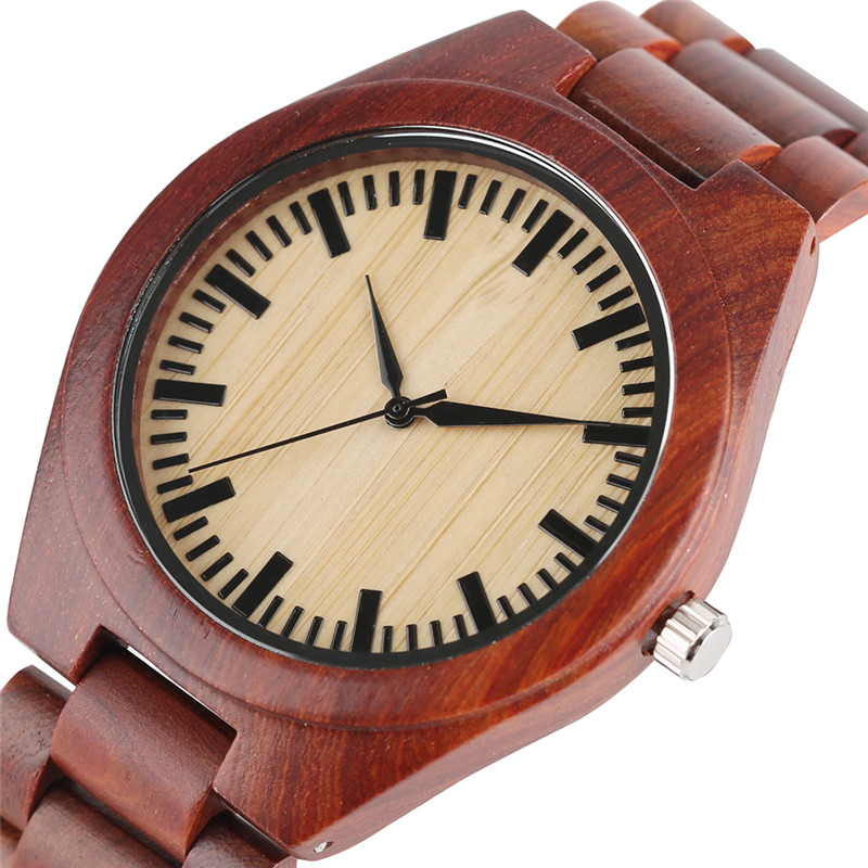 Luxury Wood Watch for Men Newest Quartz Watches Maple Analog Simple Sport Wooden Wristwatches Women Orologi Donna Reloj Mujer ultra luxury 2 3 5 modes german motor watch winder white color wooden black pu leater inside automatic watch winder