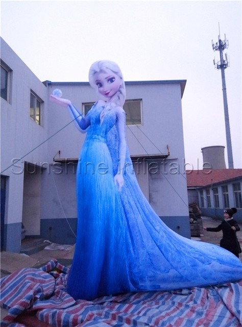 Giant beautiful inflatable girl cartoon for indoor outdoor party decoration