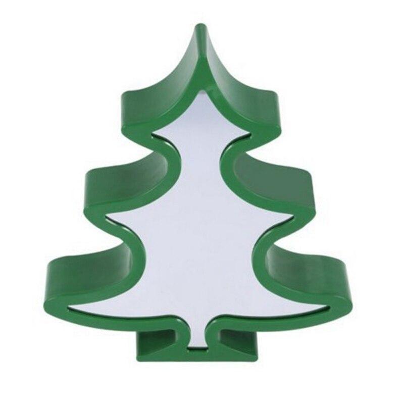 Various Shapes Cute LED lamp decorative lighting festival Christmas tree, star, cloud night lights lmap Bedroom night lamp