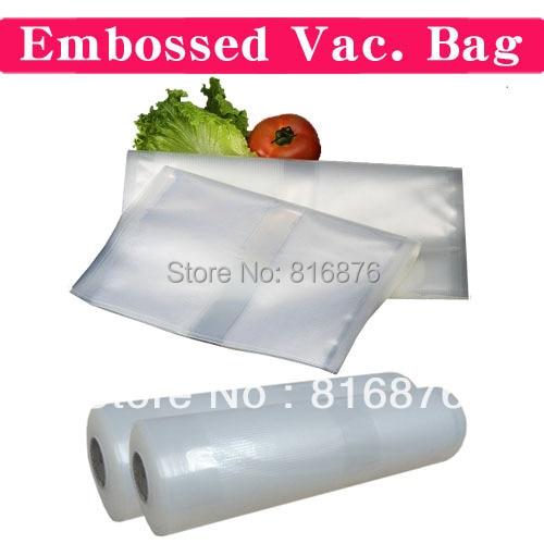 Embossed Vacuum Bag/Channel Vacuum Roll Bag/Foodsaver Ribbed Bag