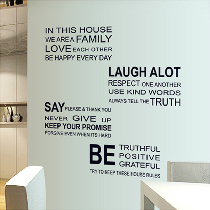 The new can remove office study art wall sticker adhesive type personality sitting room  ...