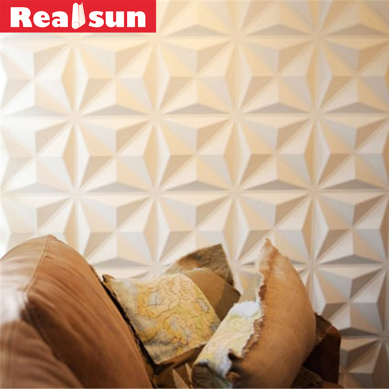 Room Decooration Wall Panel 3D Home And living Rome Decoration Accessories Wall Art Muraux Stickers 50cm