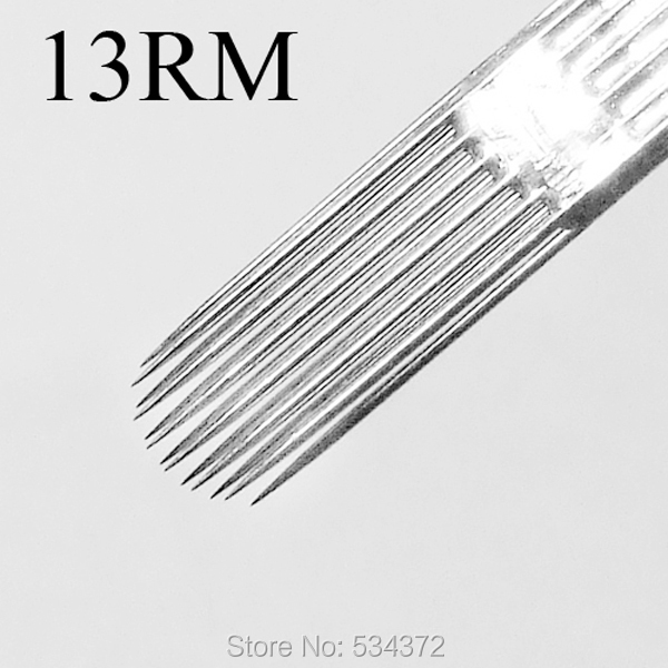 13RM Tattoo Needles Profession Sterile Sterilized Stainless Steel Needles