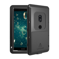 Armored Hybrid Cover Case Waterproof Case Fundas Housing Water/Dirt/Shock/Rain Proof For SONY Xperia XZ2 H8296 XZ2 Compact Case