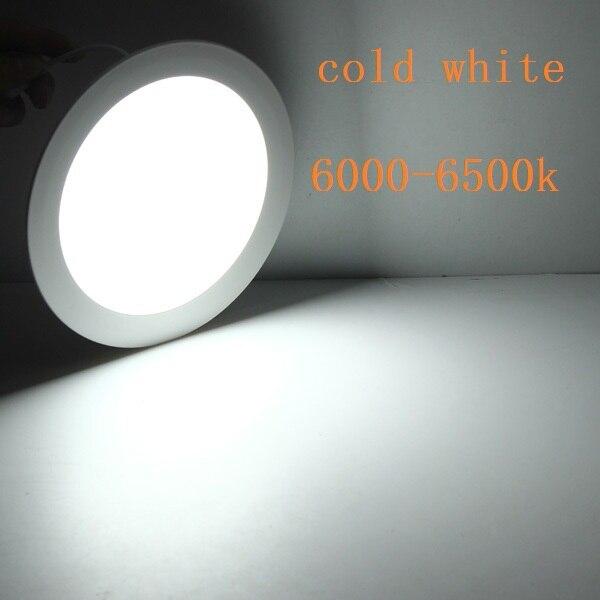 round led panel light