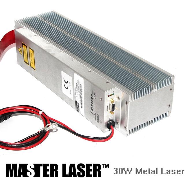 Discount 30W Synrad  VI30 CO2 Laser Marking Machine All-metal Laser Tube DIY PART Laser Tube 30w