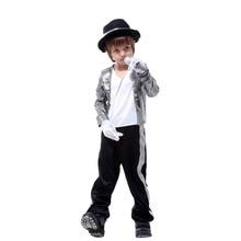 Erkek kostümleri Michael Jackson giyim sahne performansı giyim