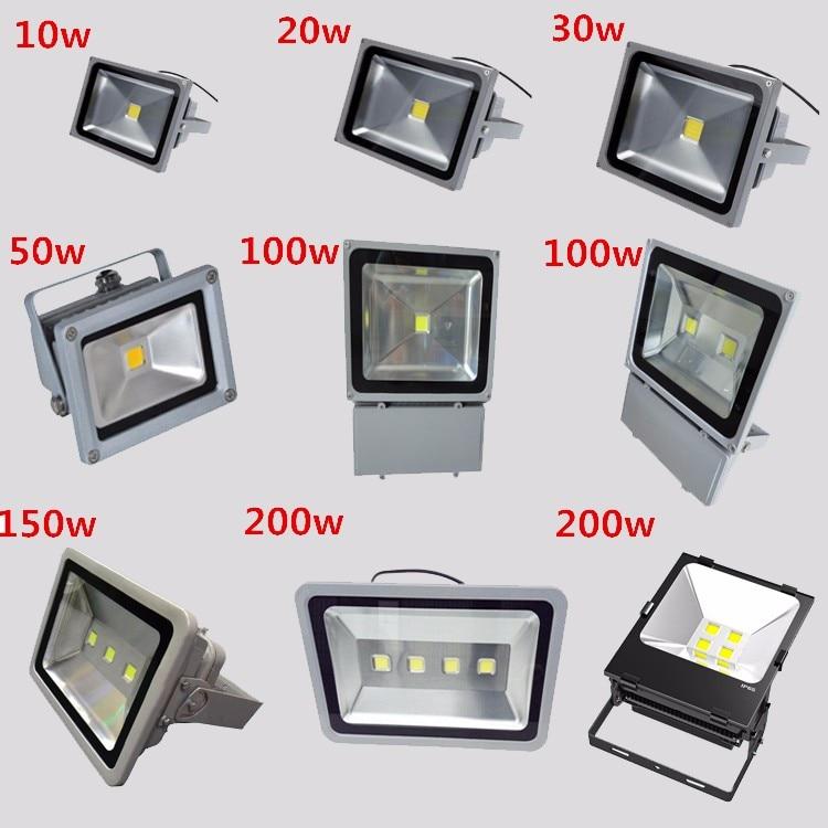 85-265 В ip65 проецирования светодиодный свет потока 100 Вт прожектор Водонепроницаемый открытый Цвет изменить игровые площадки Yards