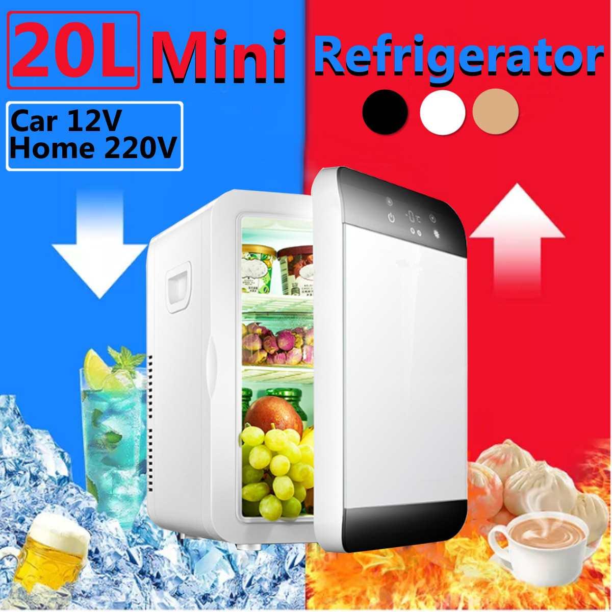 20L Freezer Fridge Dual Refrigerator Home Dual Use Cold Fridge Cooler Universal Vehicle Parts