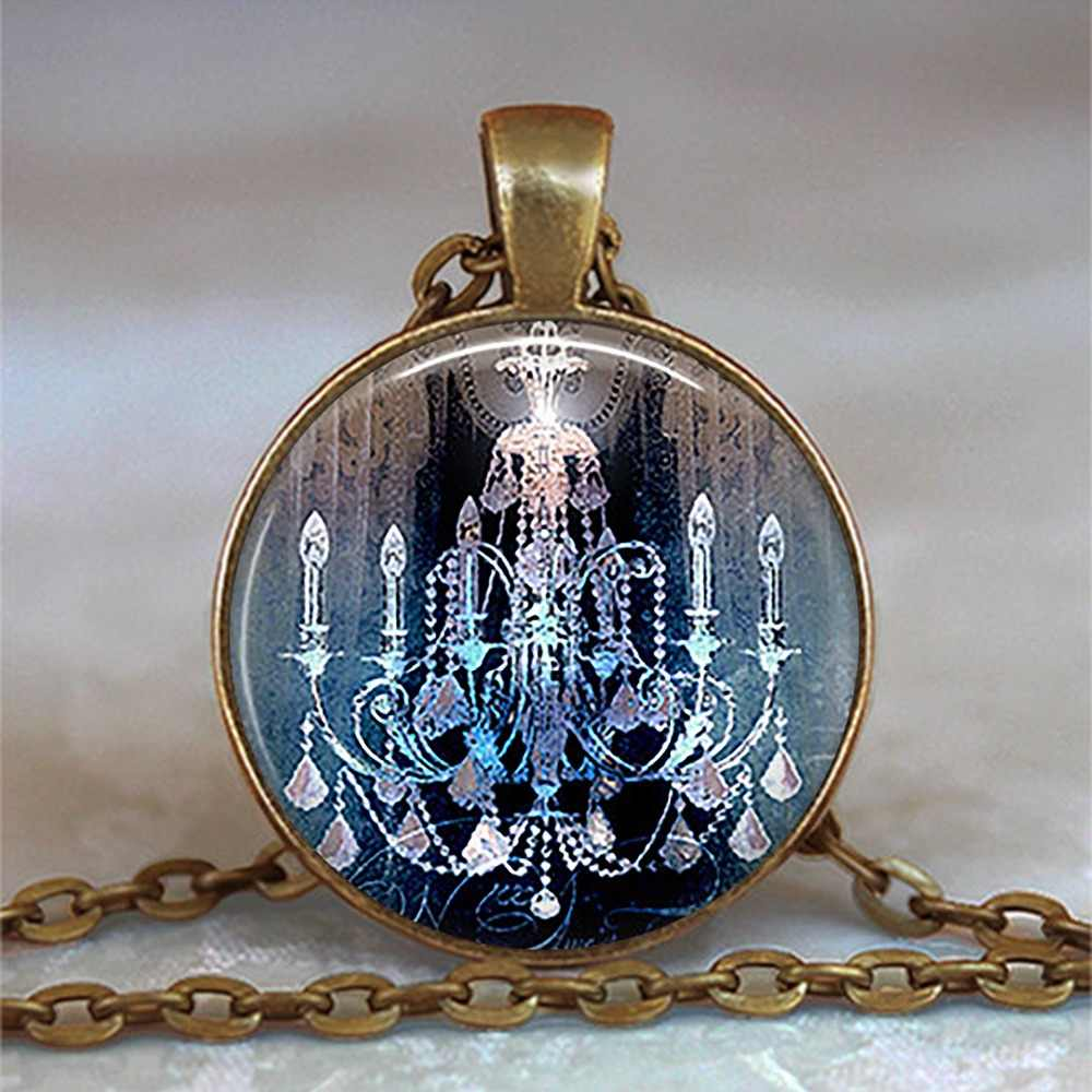 Steampunk Vintage The Magic Kingdom Mixed Photo Pendant Necklace Glass cabochon Jewelry For Boy Girls Men Women Birthday gift