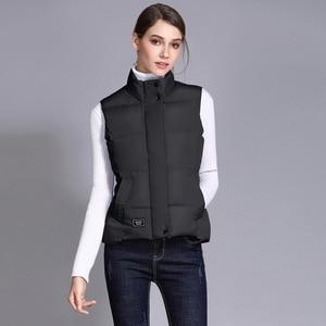Image 4 - Seenimoe Women Waistcoat Winter Cotton Vest Coat Womens Solid Color S 3XL Female Top Quality Vest Sleeveless Jacket