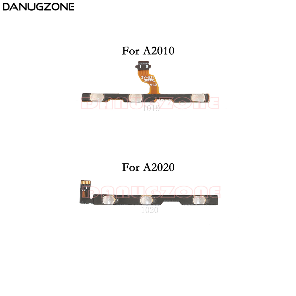 Power Button Switch Volume Button Mute On / Off Flex Cable For Lenovo A2010 A2580 A2860 / Vibe C A2020 A2020a40