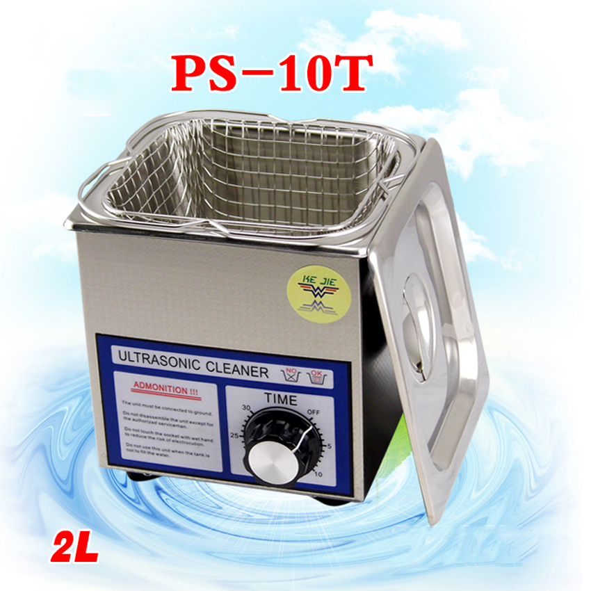 1PC 110V/220V PS 10T 70W 2L Ultrasonic cleaning machines circuit board parts laboratory cleaner/electronic products etc