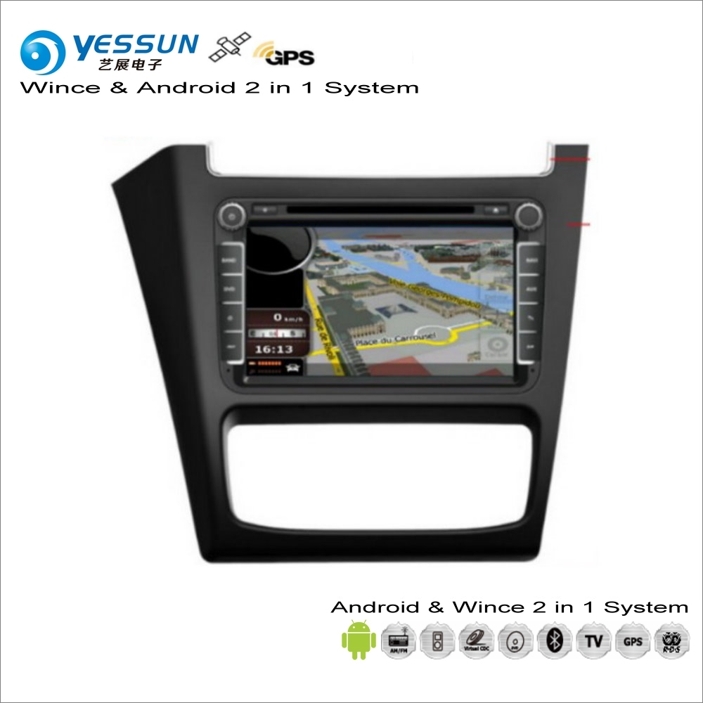 YESSUN For Volkswagen VW FOX 2014~2017 - Car Android Multimedia Radio CD DVD Player GPS Navi Map Navigation Audio Video Stereo цена 2017