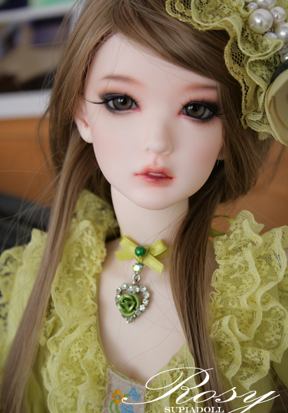 1/3th scale 60cm BJD doll nude with Make up,supia SD doll girl Rosy.not included Apparel and wig 1 4 bjd dollfie girl doll parts single head include make up shang nai in stock