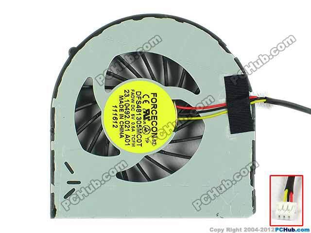 Laptop CPU Fan For Dell Inspiron N5050 M5040 M4040 N5040 N4050  KSB0605HA AM64