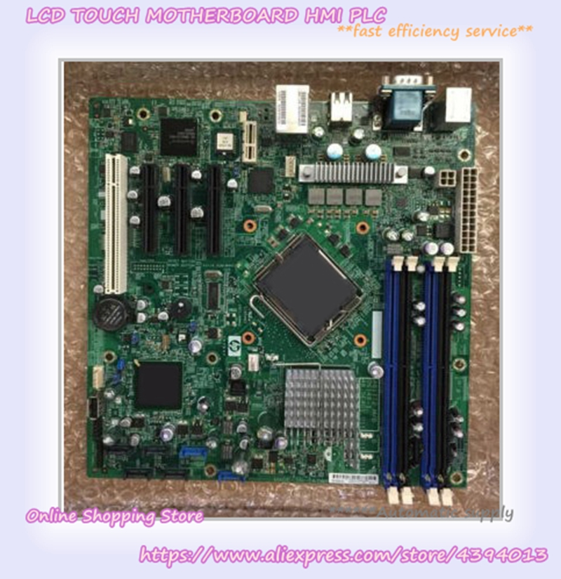 For ProLiant ML110 G5 Server Motherboard 445072-001 457883-001 z83ii mini pc intel atom x5 z8350 quad core windows 10 64bit bluetooth 4 0 hdmi 2 4g 5 8g wifi tv box media palyer x86 lan