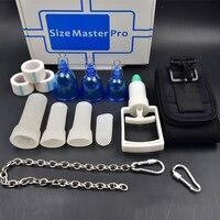 Super value Chain hanger Vacuum Size Master Pro Male PENIS ENLARGEMENT Stretcher Extender Enlarger Enhancement Pump SizeMaster