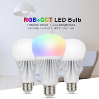 Free Shipping 9W Bulb Lamp 2 4G E27 Smart WIFI Led Light AC86 265V Colorful White